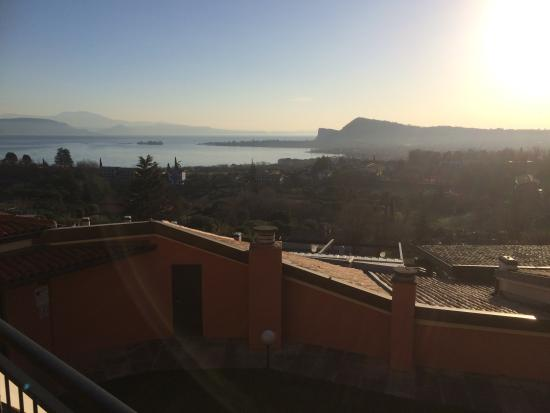 Hotel Belvedere: The view from our balcony