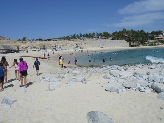 Playa Palmilla (Palmilla Beach): La orilla de la playa