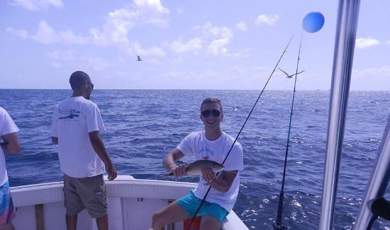 Meridian Charters: Me with a yellow tail snapper