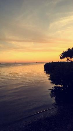 Knight's Key RV Resort & Marina : Sunset at site S-13