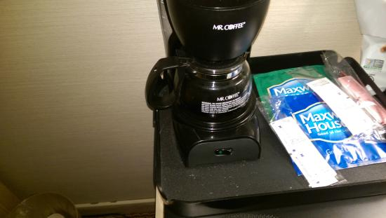 Empress Hotel: Leftover coffee