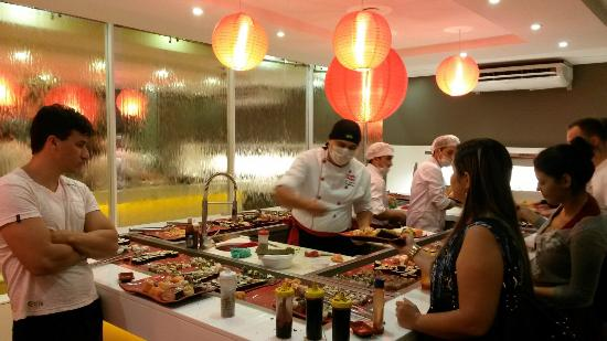 Pinga Fogo: Mesa de sushi