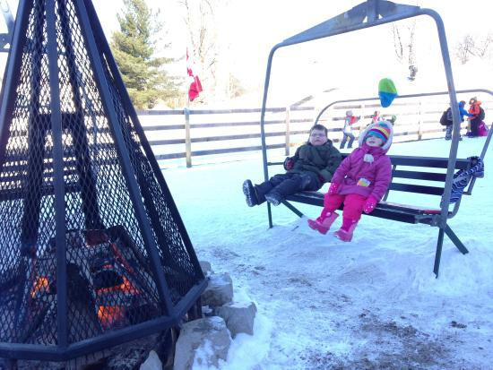 Ski Snow Valley Barrie: Keeping warm
