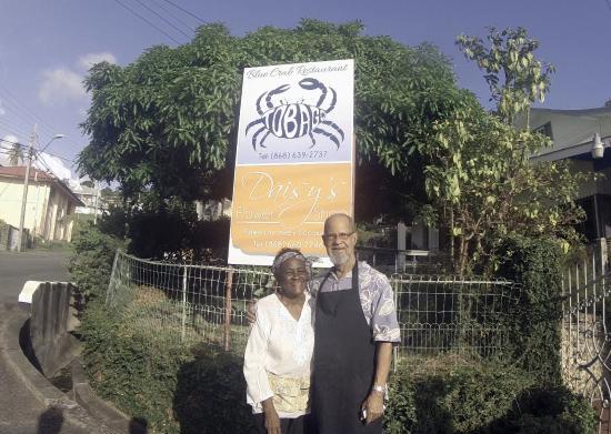 Scarborough, Tobago: Blue  Crab