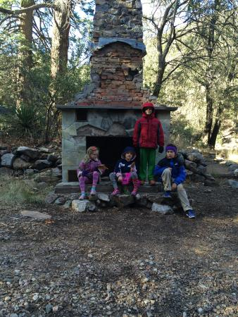 Ramsey Canyon Preserve: Remains of an old Cabin