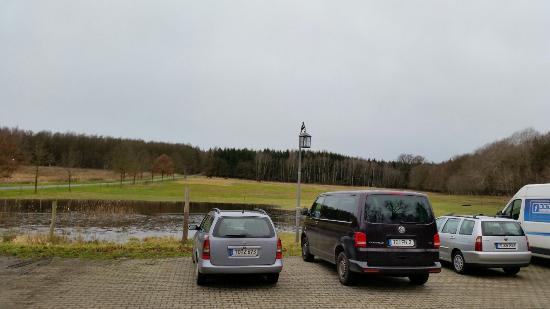 Forsthaus Dröschkau: Parkplatz