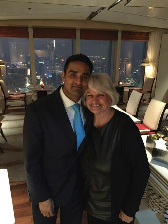 The Ritz-Carlton Shanghai, Pudong: Amit, an AMAZING Club Manager!!!