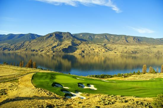 Beautiful Tobiano Golf Course in Kamloops. One of BC's Best Golf Courses