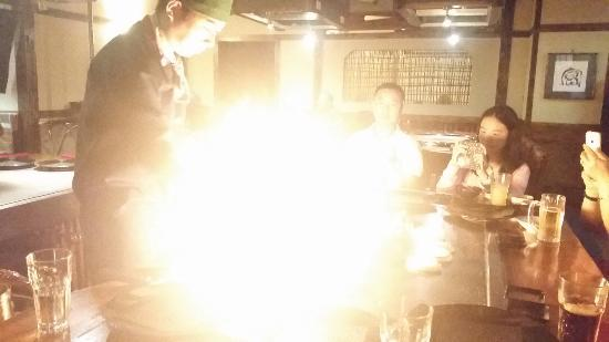 Daikoku Restaurant: A fiery start!