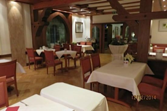 Hotel Obere Linde: Dining area