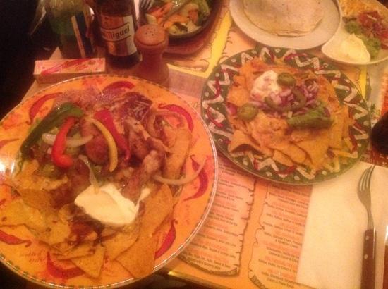 Nachos Grande And Nachos With Cheese Picture Of Desperados Restaurant Angel London Tripadvisor