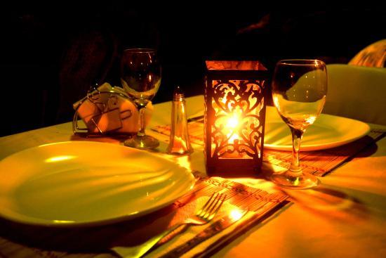 La Posada Bed & Breakfast : Dinner at La Posada