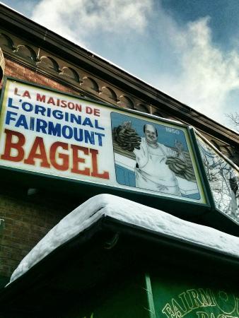 Fairmount Bagel : Devanture