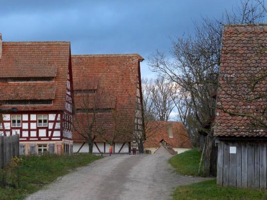 Frankish Open Land Museum (Fraenkisches Freilandmuseum): am Mühlweiher (1)