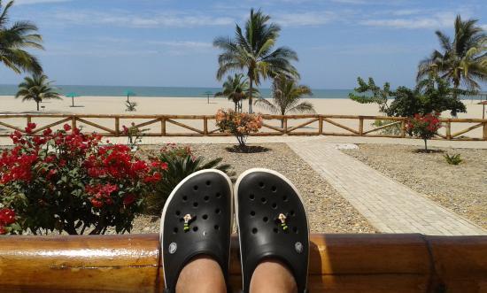 Amotape: Vista desde la terraza