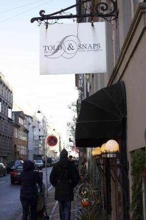 Told&Snaps: Told and Snaps. Smørrebrød