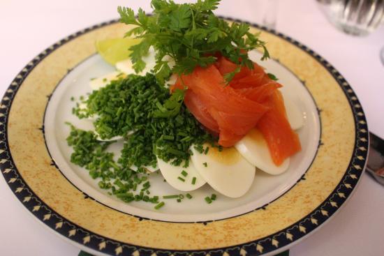 Told&Snaps: Salmon and Egg smørrebrød