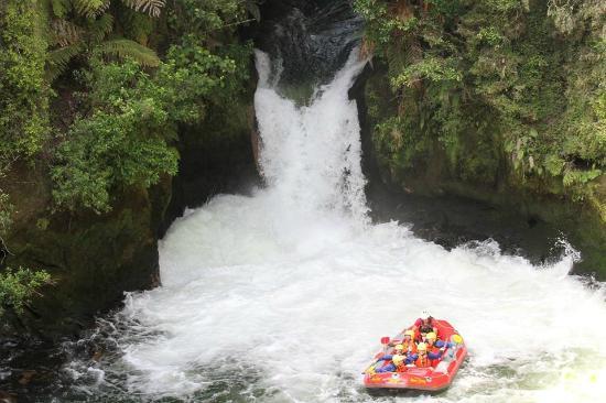 Raftabout Rotorua : Tutea Falls