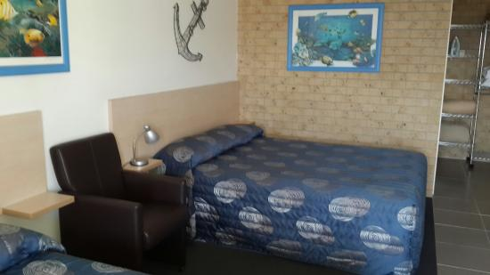 Tweed Harbour Motor Inn: Amazing clean rooms!
