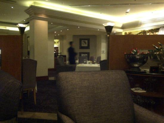 LiAoNaDuo Da FenQi Restaurant: View from my very private table