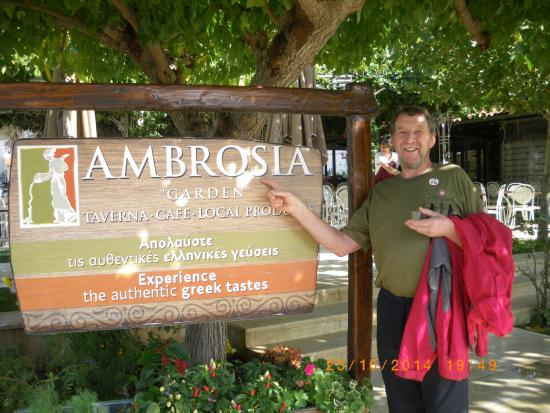 Taverna Ambrosia: great Great experience