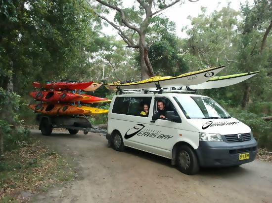 ‪Sea Kayak Jervis Bay‬