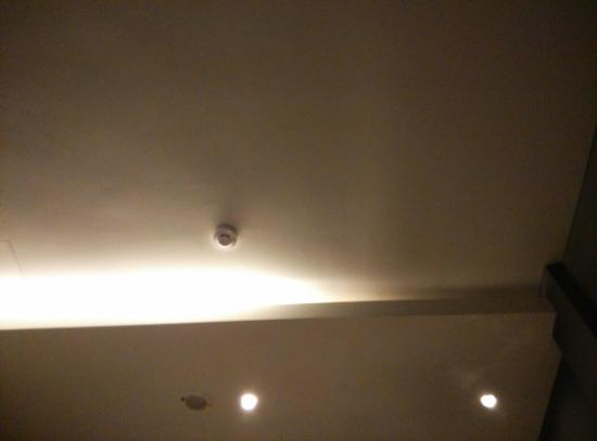 Ryokan Chic Hotel: Faulty light which is supposedly to be a quick repair.