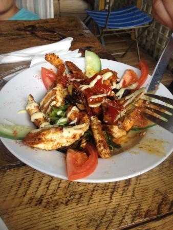 A Taste of Eden: Lightly spiced chicken salad