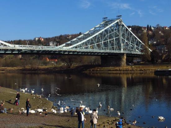 Loschwitzer Brücke (Blaues Wunder): Schönheit in Stahl: Blaues Wunder
