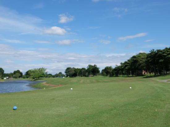 Kepala Batas, Malasia: course fairway view from tee ground