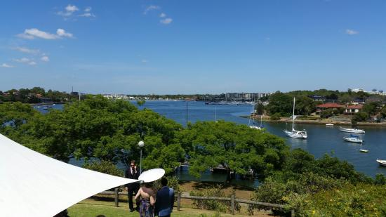 Banjo Paterson Cottage Restaurant: View from the gardens