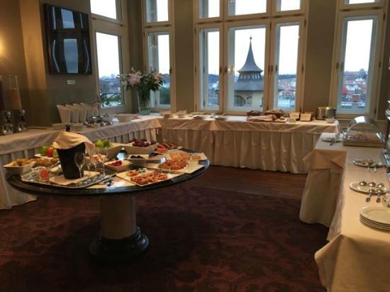 Le Palais Art Hotel Prague Great Breakfast Buffet