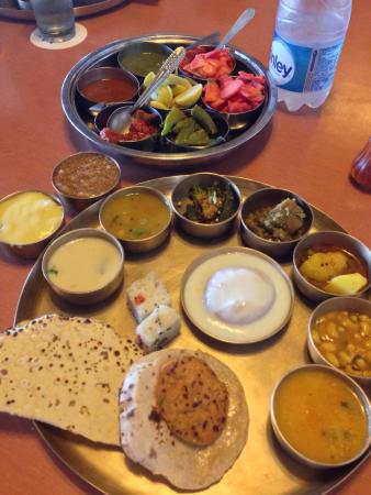 """Mandap: Delicious lunch known as """"Thali"""""""