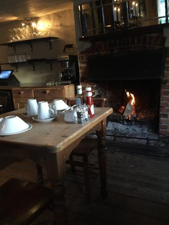 The Fox Goes Free: Fire at breakfast. Perfect!