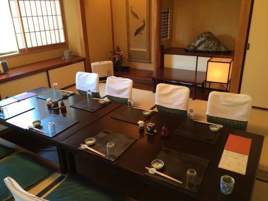 Tachiaigawa Yoshidaya: 吉田屋 離れのお座敷