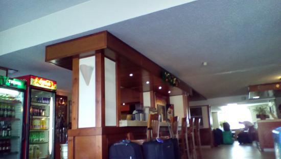 Hotel Bansko: reception