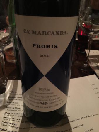 Kateh: A nice red wine
