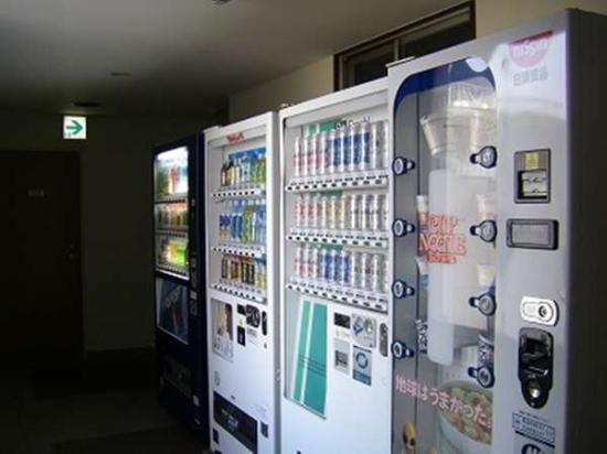 Kochi Green Hotel Harimayabashi: 【館内】自動販売機