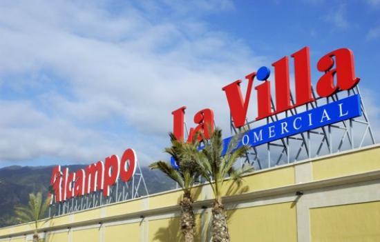 Con un hipermercado alcampo bild fr n la villa centro - Centro comercial sant boi ...