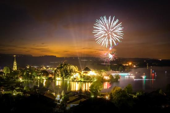 מאטזה, אוסטריה: Feuerwerk Schloss Mattsee