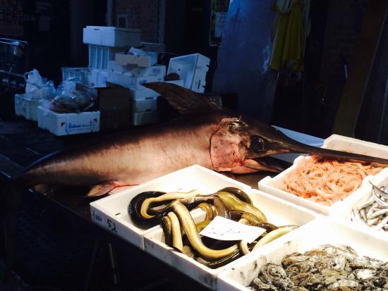 Ca' Barba B&B : Rialto Mercato Fish Market
