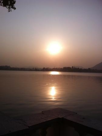 Nehru Park: Sunset