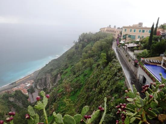Taormina Walking Tour: vista do mar