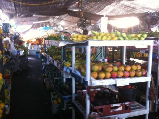 Kona Farmers Market: 과일