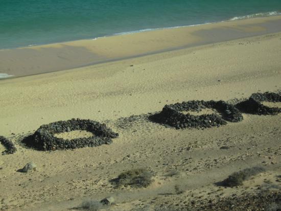 Monte del Mar: Am Strand