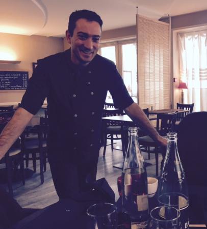 Hotel Restaurant de la Place : Chef