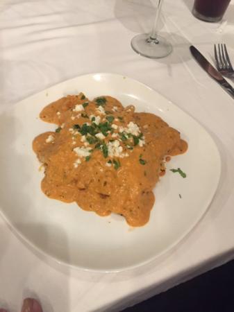The Nomad Cafe: enchilada de camarones