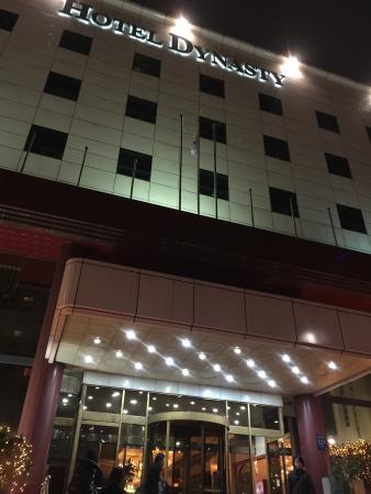 Hotel Dynasty: 建物は綺麗です