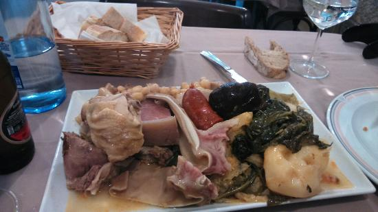 El Capitán - Restaurante: Cocido gallego