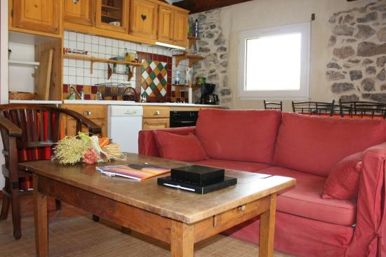 Pouzols-Minervois, Франция: piece commune des chambres d'hotes